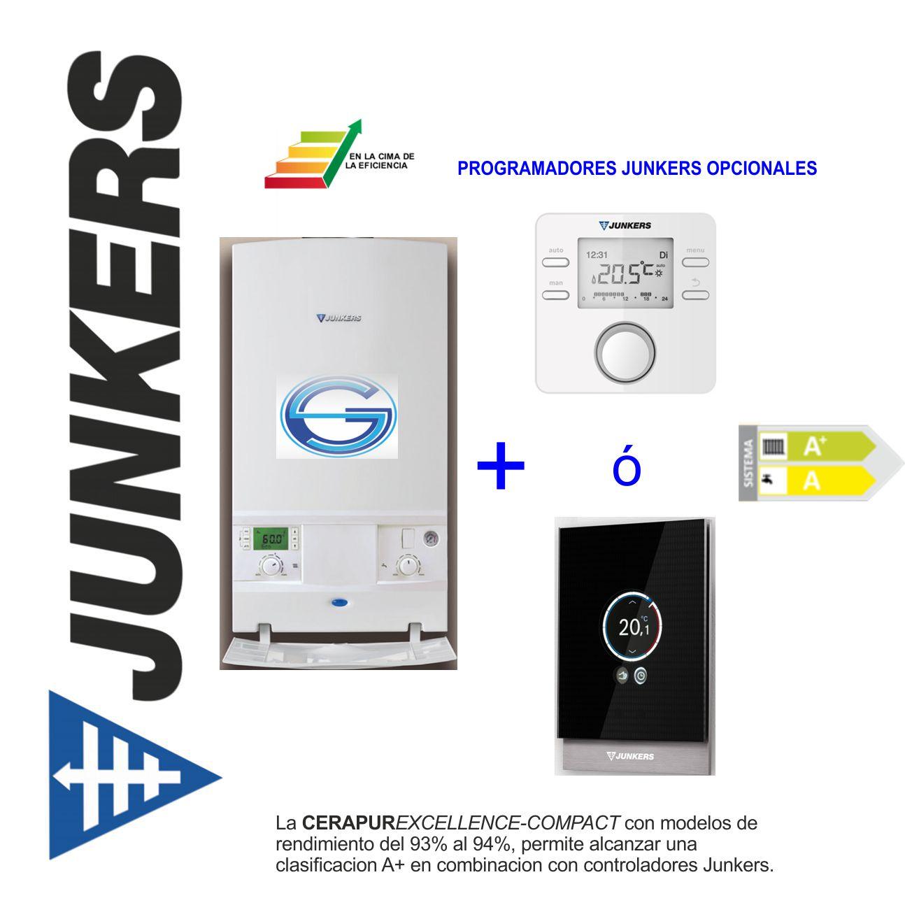 Termostatos y programadores Junkers