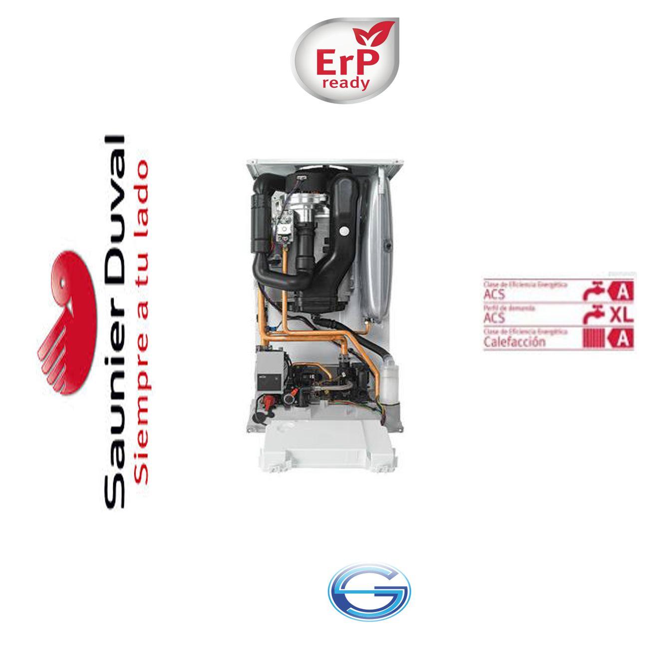 Caldera Saunier Duval Thelia Condens F 25 condensación ErP  interior