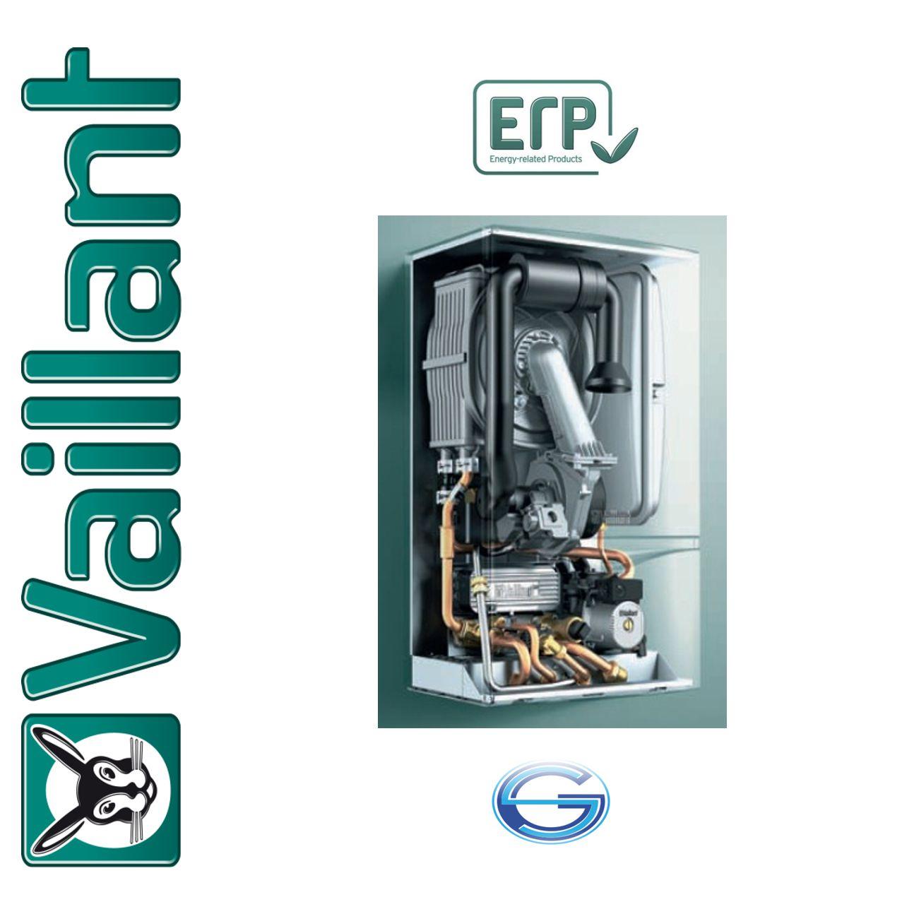Caldera de gas condensación Vaillant ecoTEC plus VMW ErP interior