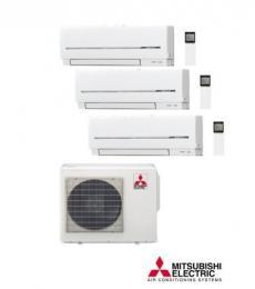 Aire Acondicionado MITSUBISHI ELECTRIC MULTI SPLIT 3X1 EXT MXZ-3D68VA