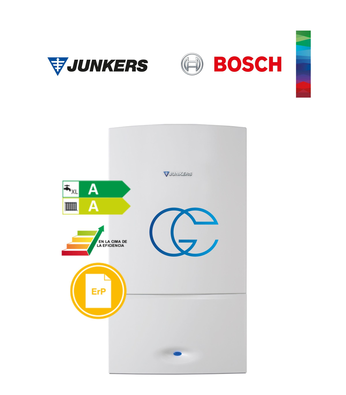 acs clase a\xl Caldera mural zwbe 30-3c gas natural calefacci/ón clase a Junkers cerapurcomfort
